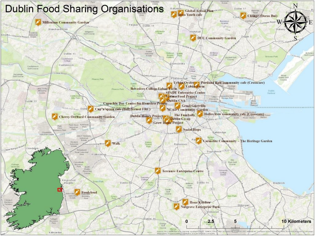Investigating Dublin's Food Sharing Landscape