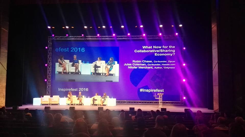 Collaborative Economy meets Design Thinking at Inspirefest