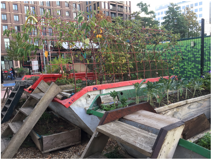 Investigating the role of shared urban growing initiatives for achieving SDG11