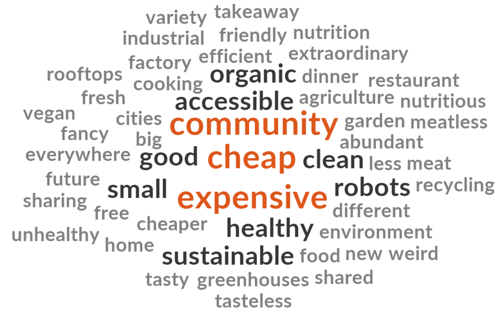 Word cloud generated using NVivo